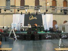 Allestimento concerto OASI  Illasi (Verona)