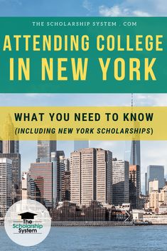 Wondering if attending in college in New York is the perfect fit for your student? Or if there are ample scholarship opportunities? Here's everything you need to know about attending college in New York. Attending College in New York Grants For College, College Fun, Education College, Higher Education, College Life, Scholarship Search Engine, Clarkson University, Student Scholarships, College Search