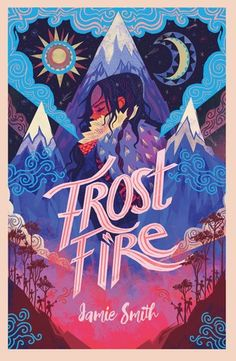 Frostfire by Jamie Smith Book Cover Art, Book Cover Design, Book Design, Book Art, Design Design, Children's Book Illustration, Graphic Design Illustration, Beautiful Book Covers, Design Poster