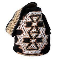 "When I saw this Silvia Tcherassi ""Mochila"" bag I thought I'd do a little more research on their AW 2010 collection, and I'm obsessed with . Mochila Crochet, Bag Crochet, Crochet Purses, Backpack Bags, Fashion Backpack, Tapestry Crochet, Beaded Bags, Handmade Bags, Daily Fashion"