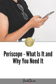 If you've thought about adding more video options to your social media strategy, you will want to check out Periscope. Learn expert social media marketing tips about this live video streaming service and how it can boost your marketing strategy. #SocialMediaMarketing Don't forget to repin this for later!!
