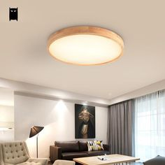 LED Round Ceiling Down Light Fixture Home Bedroom Living Room Surface Mount Lamp Ceiling Lights, Ceiling Lights Living Room, Master Bedroom Lighting, Trendy Living Rooms, Living Room Ceiling, Living Room Lighting, Bedroom Light Fittings, Room Lights, Bedroom Ceiling Light