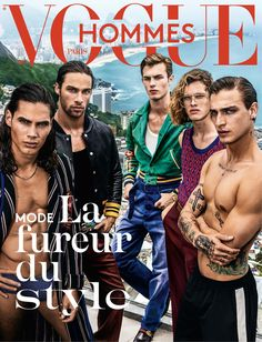 Vogue Hommes is heading for Brazil to set out the style gang rules from the roads of Rio, through the lens of Mario Testino. On newsstands March 16.