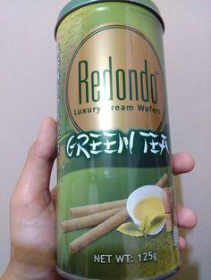 wafer green tea :3 wanna try? :D