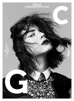 Glamcult Magazine November 2012 Cover • Minimal . / Visual .