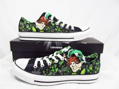 Converse Batman Poison Ivy Chuck Taylor All Star Shoes DC Comics Mens WomenS | eBay