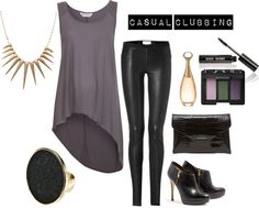 """""""Casual Clubbing"""" by gumblr on Polyvore"""