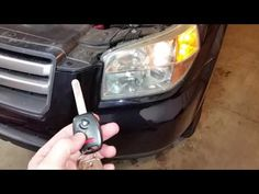 2003-2008 Honda Pilot SUV - Testing Key Fob After Changing Battery - Parking Lights Flashing - YouTube