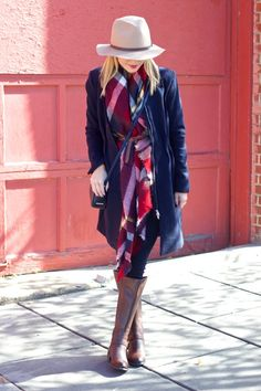 Belt a blanket scarf for a whole new look