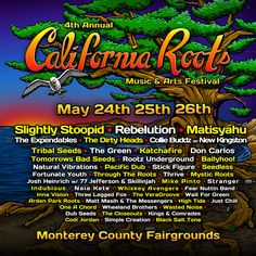 California Roots Music and Arts Festival:: May 24-25-26, 2013 – Monterey County Fairgrounds