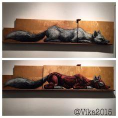 Exhibition of Roa in NY