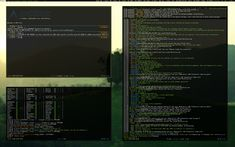 ArchLinux - Awesome Greenish by nustyle.deviantart.com on @deviantART