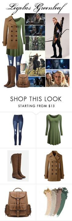 """""""Legolas Greenleaf"""" by lulu15emma ❤ liked on Polyvore featuring JustFab, Lands' End and Gucci"""