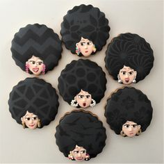 Great for a theme party. Galletas María, by doctorcookies Fondant Cookies, Cookie Icing, Royal Icing Cookies, Cupcake Cookies, Biscotti Cookies, Iced Cookies, Sugar Cookies, Cookies Decorados, Galletas Cookies