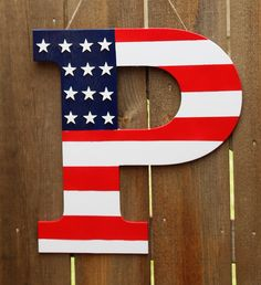 Handmade in the USA, one at a time just for you. We specialize in making carved/engraved wood signs with old world craftsmanship that will become tomorrow's heirlooms. Fourth Of July Decor, 4th Of July Decorations, July 4th, Painted Letters, Wood Letters, Hand Painted, Letter Door Hangers, Red Truck Decor, Wooden Painting