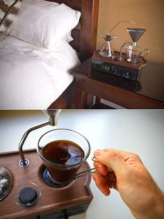 Barisieur Alarm Clock Coffee Alarm Clock