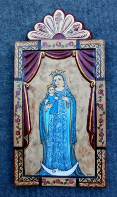Colonial Art, Spanish Colonial, Sacred Art, Alters, Mosaics, Cabinets, Icons, Inspired, Paper