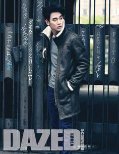 "Kim Soo Hyun Is a Captivating Autumn Hunk for ""Dazed"" -- Soompi"