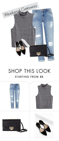"""Weekendowy wypad"" by sweetlittlebunny on Polyvore featuring moda, Miss Selfridge, H&M, Jimmy Choo i MANGO"
