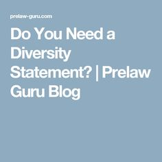 Fantastic Law School Diversity Statement That Will Provide You
