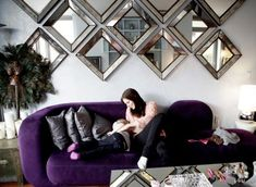 7 Respected Cool Tips: Wall Mirror With Lights Rugs wall mirror collage beautiful.Wall Mirror Interior Couch gallery wall mirror entry ways. Mirror Wall Collage, Wall Mirrors Entryway, Rustic Wall Mirrors, Living Room Mirrors, Round Wall Mirror, Living Room Decor, Mirror Art, Wall Mirror Ideas, Decorative Mirrors