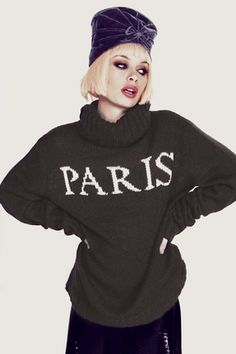 Wildfox Couture Paris is Home Seattle Sweater in NYC