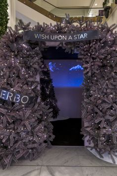 'Wish Upon A Star' Experiential Pop-Up for Flowerbomb by Viktor and Rolf, Selfridges. Designed and installed by Elemental Design.