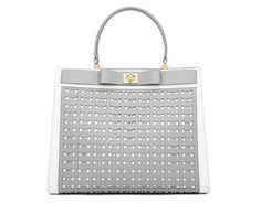 Kate Spade perforated handbag $598 / fourre-tout en cuir perforé 598 $