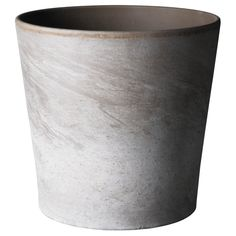 """MANDEL Plant pot - 4 ¼ """" - IKEA $1.99 I see it sprayed mercury glass style silver with seagrasses or holding the table numbers...Or maybe painted white with a navy ribbon or rope accent?"""