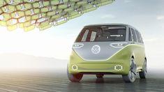 Volkswagen unveils self-driving electric VW Microbus