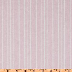 Treasures by Shabby Chic Wildflowers Stripes Pink - Discount Designer Fabric - Fabric.com