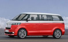 2014 Volkswagen Microbus - Spy Shots They're not teasing this time, are they?