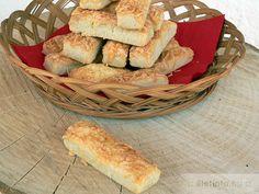 Omlós sajtos rúd Apple Pie, Rum, Bread, Cheese, Chicken, Desserts, Food, Tailgate Desserts, Deserts