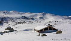 Les bergeries des Pozzi en hiver