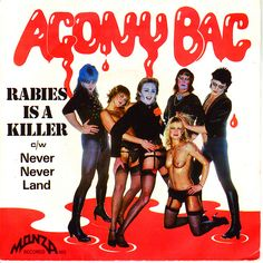Agony Bag - Rabies Is A Killer (Vinyl) at Discogs Take That Band, Worst Album Covers, Rare Historical Photos, Bad Album, Post Punk, Art Music, Cringe, Rock And Roll, Blues