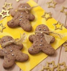 Bonshommes de pain d'épices au sucre rapadura - Recettes de cuisine Ôdélices