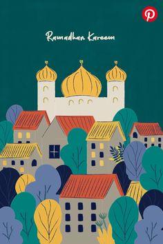 Rafiqa Ulfah Rangkuti on Behance People Illustration, Illustration Art, Poster Ramadhan, Wallpaper Ramadhan, Eid Mubarak Wallpaper, Ramadan Poster, Islamic Wallpaper Hd, Ramadan Background, Eid Mubarak Greetings