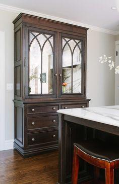 """Interior Design Ideas - """"Mirrored Kitchen Cabinet"""""""