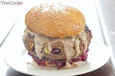 Leftover Thanksgiving Stuffed Burger