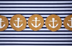 Anchor and Rope Coasters