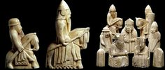 Mystery Of The Beautiful Viking Uig Chessmen Found On The Isle Of Lewis, Scotland