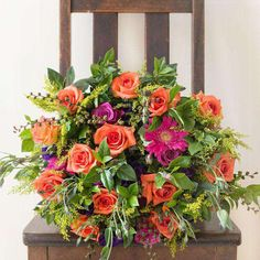 ⭐️⭐️⭐️⭐️⭐️ 5 star review: Beautiful 50th Bouquet Beautiful bouquet delivered and very prompt service Bunch Of Flowers, Love Flowers, Fresh Flowers, Silk Flowers, Beautiful Flowers, Floral Bouquets, Floral Wreath, Mothers Day Flowers, Flowers Delivered