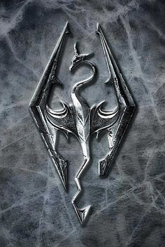 Skyrim symbol. I need to make this for Devin
