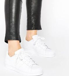 white adidas shell toes superstar - Google Search