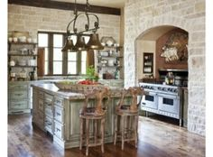 Case Stile Countryfoto : Cucine stile country home ideas french country