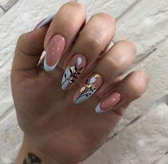 Classy Nails, Stylish Nails, Trendy Nails, Cute Nails, Perfect Nails, Gorgeous Nails, Nagellack Design, Minimalist Nails, Pretty Nail Art