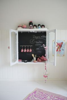 Tucked away play kitchen