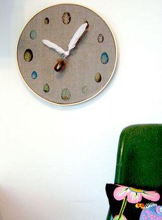 Ornithology Clock