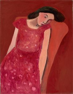 William Scott, [Mary Asleep], 1941, Oil on canvas, 66 × 51.4 cm / 26 × 20¼ in, Private collection