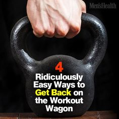 Ending a rut isn't as hard as you might think. #fitness #exercise #workout http://www.menshealth.com/fitness/restart-your-workout-routine?cid=soc_pinterest_content-fitness_july14_easywaystogetinshape